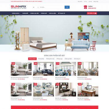 Web Cửa hàng Nội thất
