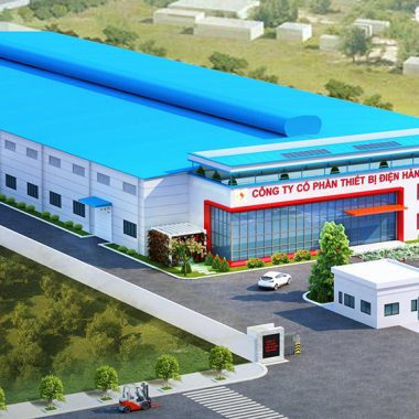 Web Nhà máy công nghiệp